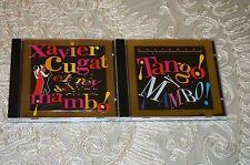 Lot of 2 Caliente, El Rey del Mambo by Xavier Cugat (CD, 1997 1998, Fine Tune)
