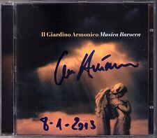 Giovanni Antonini SIGNED musica barocca CD Pachelbel Canon il giardino contemporaneo armonico