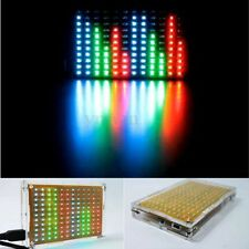 LED Music Spectrum Electronic DIY Starter Kit 12x11 FFT Voice Columnar Frequency