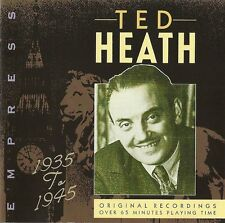 "TED HEATH ""1935 To 1945"" EMPRESS RAJCD 868 [CD]"