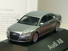 Herpa Audi A8 grau silber - PC dealer model - 037191 - 1/87