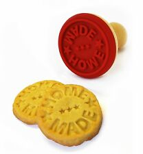 Suck UK Wooden Cookie Stamp Biscuit  Home Made Message Stamper Cutter Xmas Gift