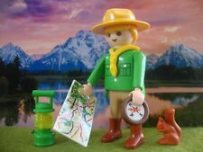 PLAYMOBIL LOT 232 BOY SCOUT SCOUTISME JAMBOREE AVENTURE NATURE CAMP BADEN POWELL