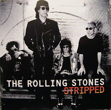CD the rolling stones/stripped – rock album 1995