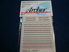 ARCHER FINE TRANSFERS TATTOO DECALS CELTIC TRIBAL BANDS 1:6 1:4 FG99010 NEW