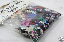 2 BAGS OF 2000 COUNT SEQUIN SPANGLES CONFETTI GREAT FOR PARTIES WEDDINGS EVENTS