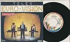 "EUROVISION 1980 45 TOURS 7"" FRANCE TELEX MARC MOULIN SYNTHE"