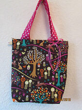WOODLAND ANIMAL FOX HANDBAG SHOPPER RETRO UK BAG PUNK NEW MATCHING PURSE