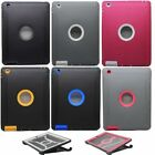 Shockproof defender Heavy Duty Protective Hybrid Case Cover For iPad 2/3/4 Gen -
