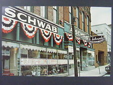 Memphis TN A. Schwab Department Store Museum Color Chrome Postcard 1960s-70s