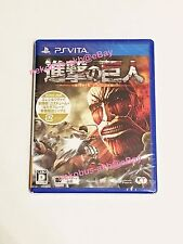 [New] Attack on Titan [shingeki no kyojin] - PS Vita [Japan Import] [PSV]