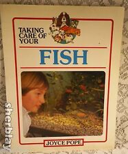 Taking Care of Your Fish by Joyce Pope 1990 Paperback