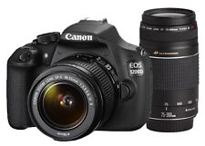 Canon EOS 1200D DSLR(Kit with 8 GB Card & Bag EF S18-55 IS II+55-250mm IS II)