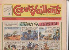 COEURS VAILLANTS 1956 année complète n°1 à 52 - TTB