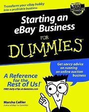 Starting an eBay Business for Dummies Marsha Collier Paperback