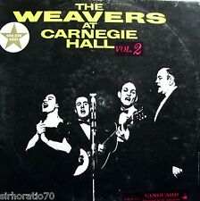 The WEAVERS At Carnegie Hall Vol.2  LP