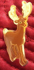 Rudolf the red nosed reindeer Christmas Pin Badge (Gift Idea) NEW