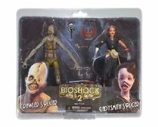 "NECA BIOSHOCK 7"" INCH FIGURE SPLICER 2-PACK SET - CRAWLER & LADYSMITH v2 NEW"