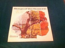 Songs Of The Seasons Gift Wrapped By The Stars Christmas LP Columbia Various