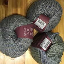 3 X 100g Debbie Bliss Roma Weave Shade 01 Lot 341