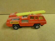 MATCHBOX SUPERFAST N° 22 MADE IN ENGLAND 1975 - BLAZE BUSTER