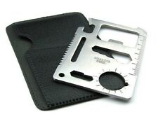 11-in-1 Multi-functional Survival Pocket Card Tool Kit - [Set of 2 pcs]