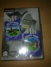 3D MINI GOLF ENGLISH PC CLASSIC GREAT COMPUTER  CD-ROM NEW & SEALED