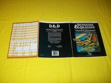 AC7 MASTER PLAYER SCREEN DUNGEONS & DRAGONS TSR 9156 - 2