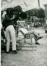 "LUGO (RAVENNA) DE SICA REGISTA DEL FILM ""LA RIFFA""-FOTO D'EPOCA b(OLD PHOTO)1962"