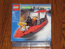 LEGO World City Police and Rescue Firefighter Speedboat (7043) NISB