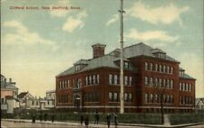 New Bedford MA Clifford School c1910 Postcard