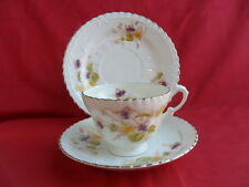 Royal Albert, Viola/Pansy, Tea Trio (Teacup, Saucer & Teaplate)