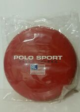 Polo Ralph Lauren Frisbee Disc USA Red Polo Sport Frisbee Golf NEW IN PLASTIC