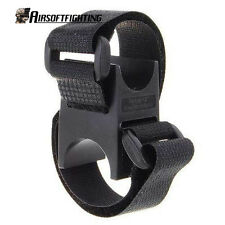 Torch Flashlight Handlebar Bike Mount Bracket Loop Lockblock for Surefire 6P A