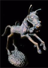 Old Tribal Large  Bamum Bronze War Horse Figure  --- Cameroon