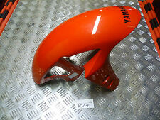 R27 YAMAHA YZF R1 2CR 2015 FRONT FENDER MUDGUARD IN RED FREE UK POST