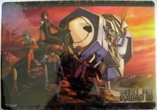 Gundam 00 Plastic Desk Mat Anime Poster NEW