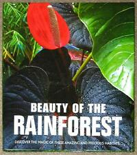ENORMOUS HARDCOVER ~ BEAUTY OF THE RAINFOREST ~ INCREDIBLE PHOTOGRAPHY Gr8 GIFT!