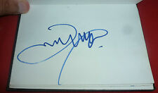 JAMES MCAVOY SIGNED 6X4 WHITE CARD MOVIE AUTOGRAPH X MEN TRANCE THE BEATLES