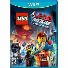 WII U LEGO MOVIE VIDEO GAME BRAND NEW FACTORY SEALED