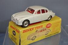 Dinky toys model No.195 jaguar 3.4 mk. ii saloon vn mib