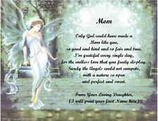 Christmas/Birthday Gift 4 Mom from Daughter Personalized Poem #4(See 12 choices)