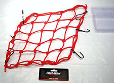 BikeMaster Bike Master Universal Stretch Cargo Motorcycle ATV Tie Down Net Red