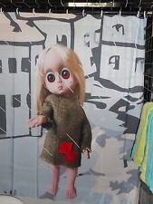 Fan Made Little Miss No Name Doll Shower Curtain  Gay Camp 60's Blythe Keane