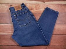 Women's Vintage Levi's 550 Relaxed Fit Tapered Leg Jeans Size 14 Zipper Fly USA