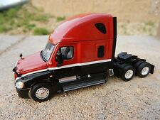 1:64 First Gear RED & BLACK Freightliner Cascadia SEMI TRUCK *DIECAST* DCP NEW!