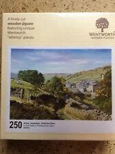 "Wentworth 250 Piece Wooden Jigsaw Puzzle, ""Whimsy"" pieces - Muker, Swaledale"
