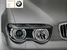 BMW 7-Series E65 2003 UK Market Sales Brochure 730i 735i 745i 760i 730d Li SE