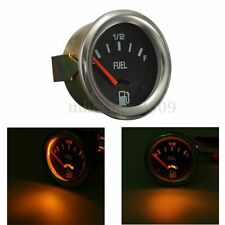 "2"" 52mm Mechanical Car Fuel Level Gauge Without Sensor E-1/2-F Pointer 12V New"