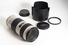 Canon EF 70-200mm f/4L USM Autofocus Telephoto Zoom Lens, PERFECT!!